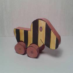 Tigerduck papercraft by minidelirium