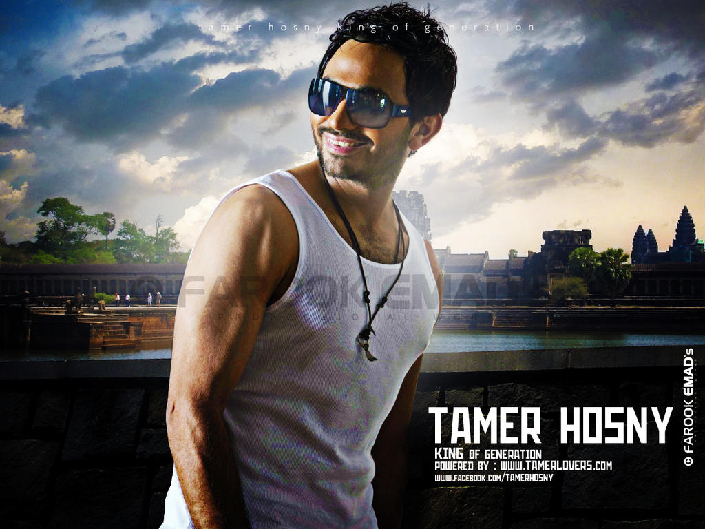Tamer Hosny - New Wallpaper by farookdesigner