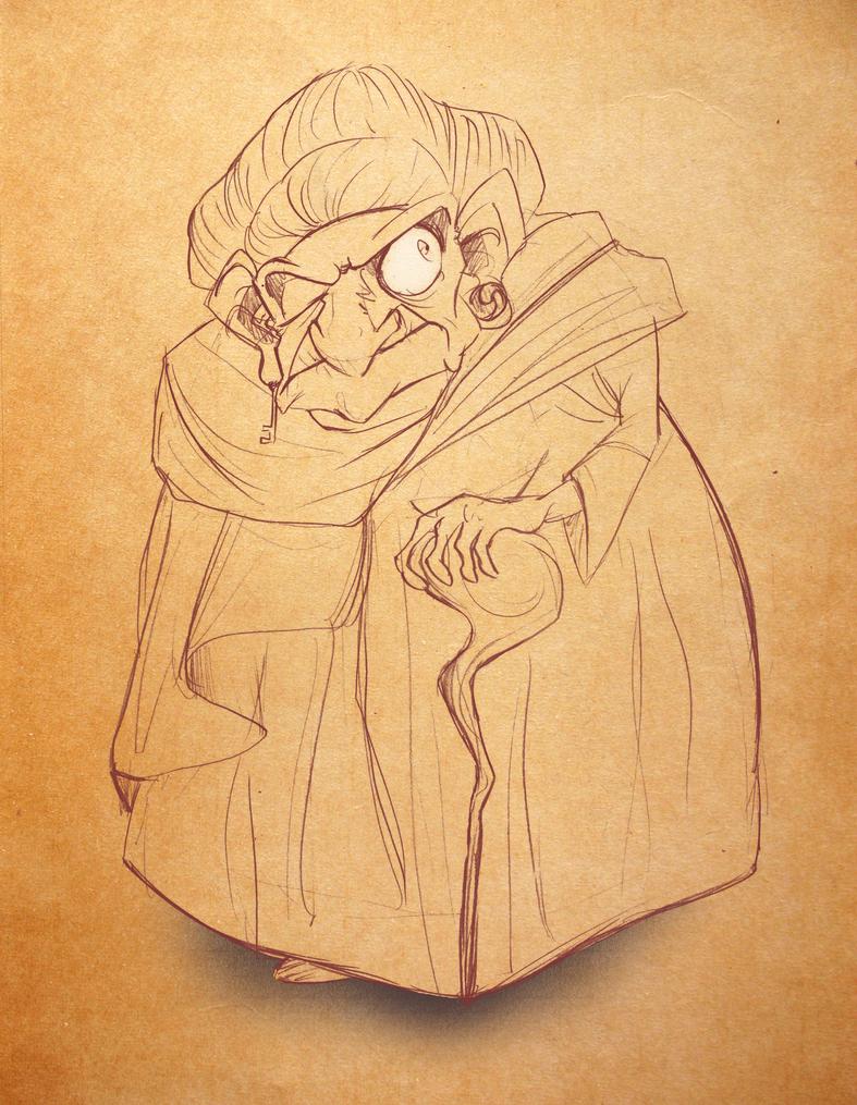 Wise Woman by LamourDanimer