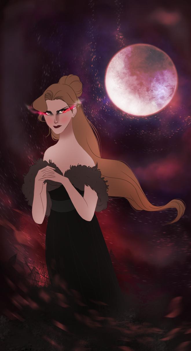 Lady Odile von Rothbart by LamourDanimer