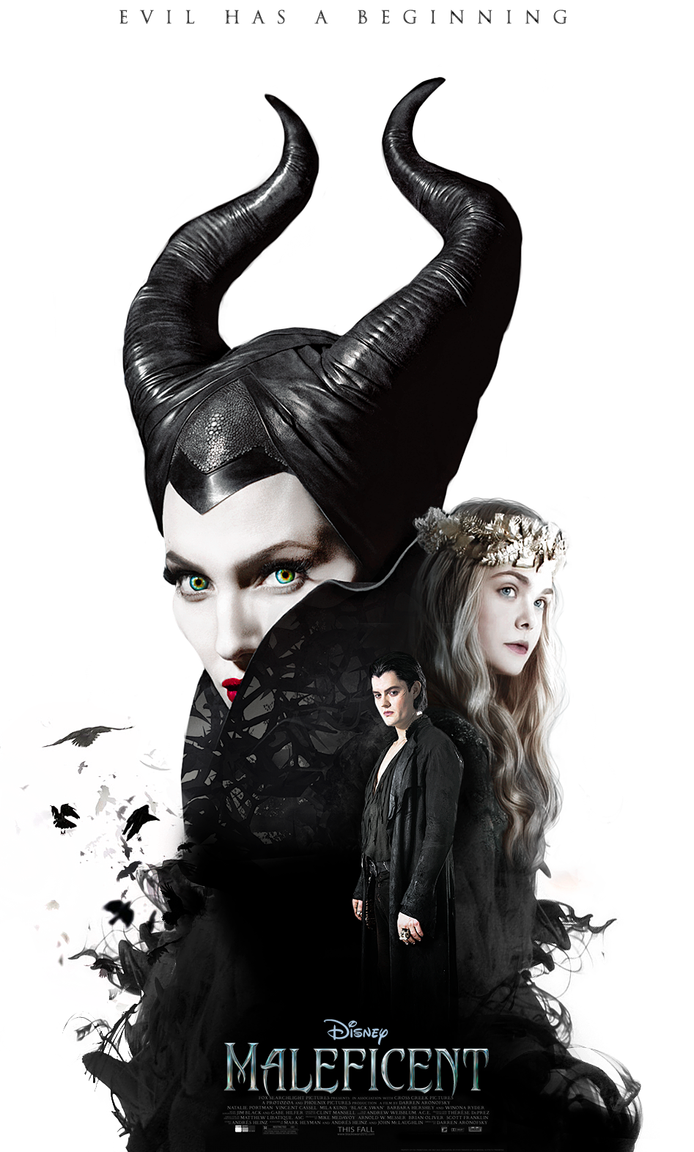 MALEFICENT (2014) - Fanmade Poster 2 by LamourDanimer