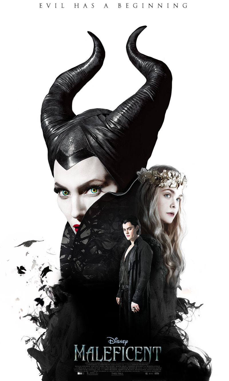 maleficent 2014 fanmade poster 2 by domnics on deviantart