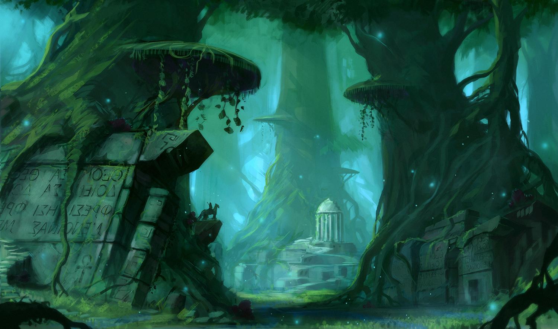Inside the Forest - Part II by JJcanvas