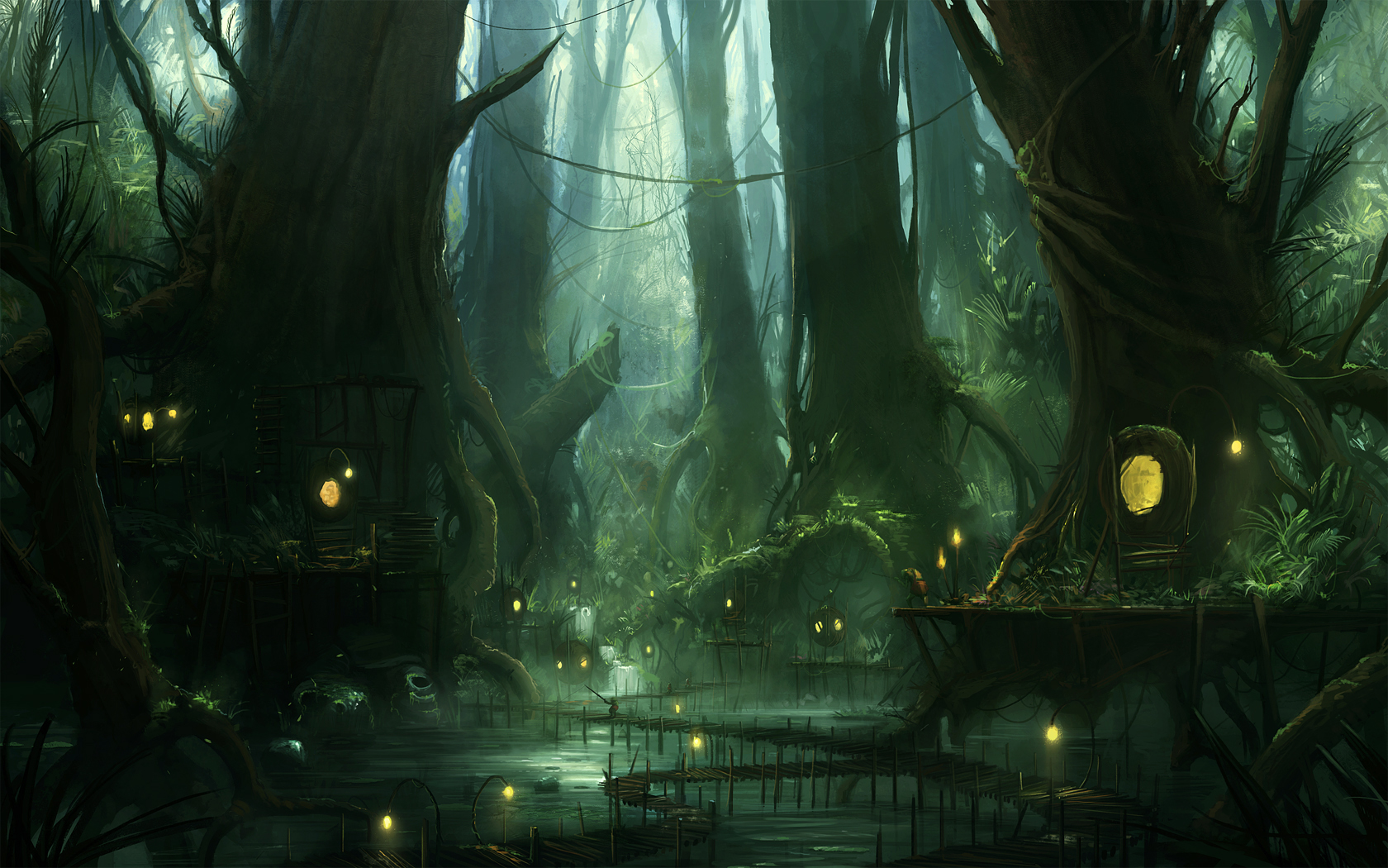 Swamp by JJcanvas