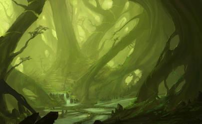 Enchanted Forest II by JJcanvas