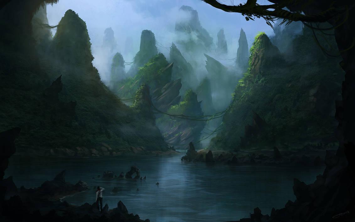 Forgotten Lands I by JJcanvas