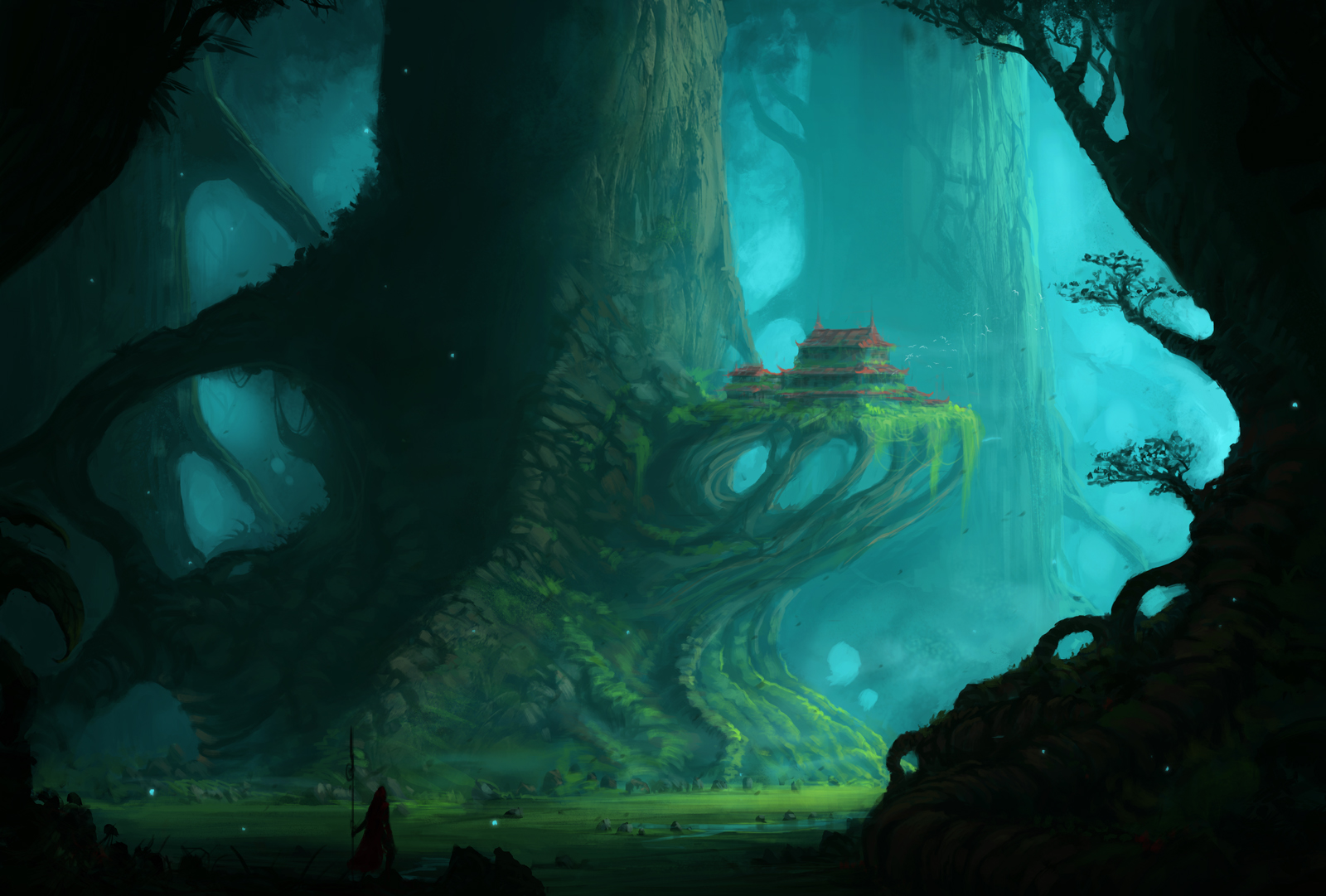 The Colossal Trees by JJcanvas