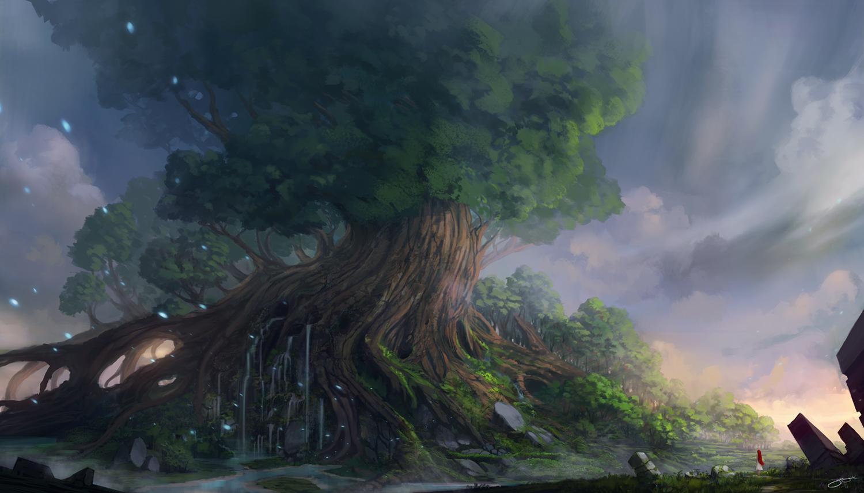 Yggdrasil Art Yggdrasil II by JJcanv...