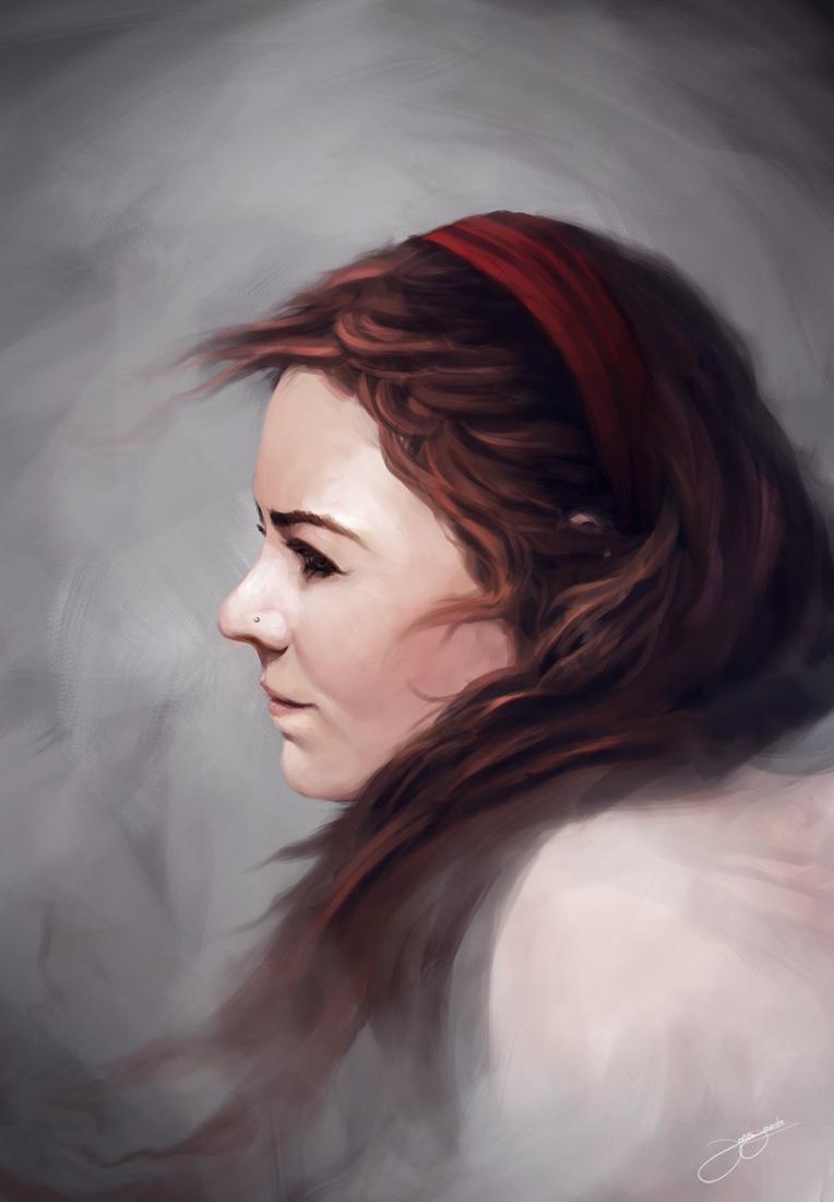 Portrait I by JJcanvas