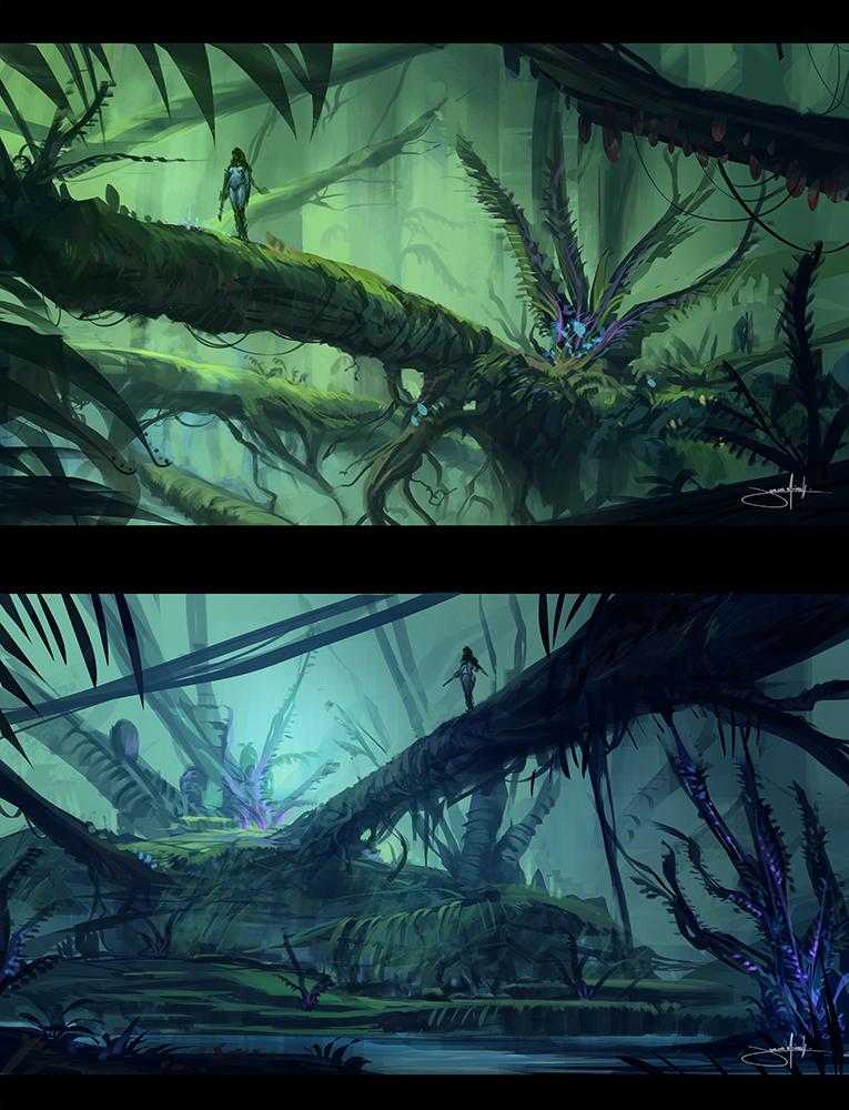 Planet Exploration II by JJcanvas