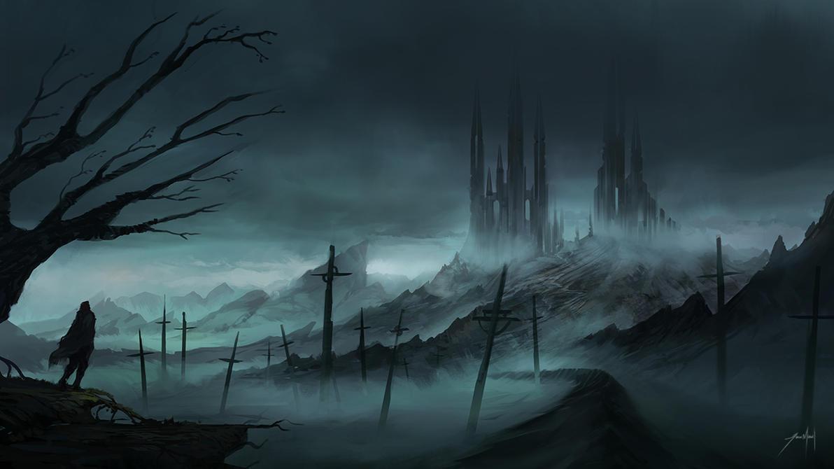 evil landscape background - photo #15