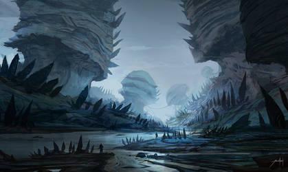 Alien World by JJcanvas
