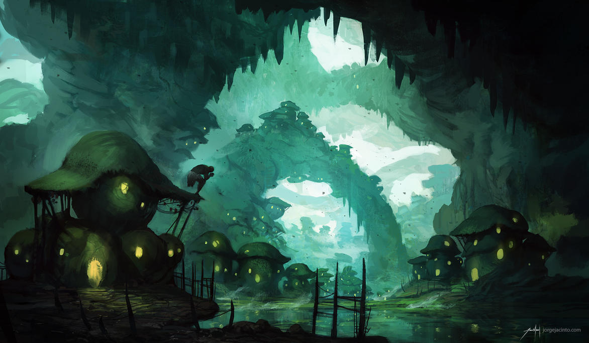 Skrivena selo (Aldea). Swamp_wasteland_by_jjcanvas-d7hdi18