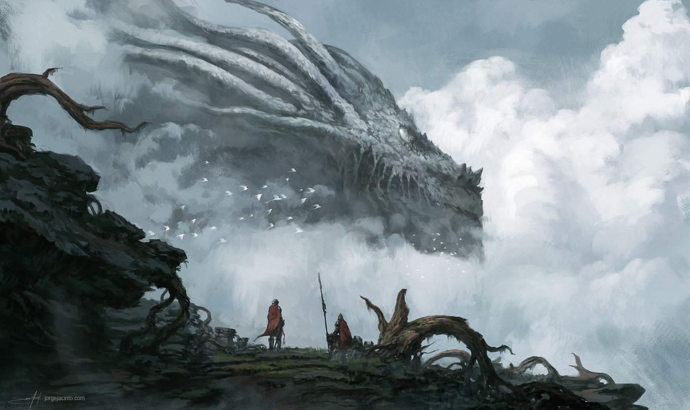 Beautiful Wallpaper Lord Dragon - the_old_dragon_god_by_jjcanvas-d7xkglc  Perfect Image Reference_113615.jpg