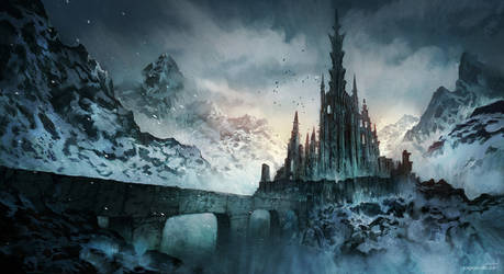 Dark Lords Castle by JJcanvas