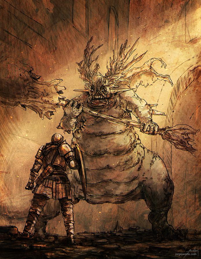 Undead Pilgramige II by JJcanvas