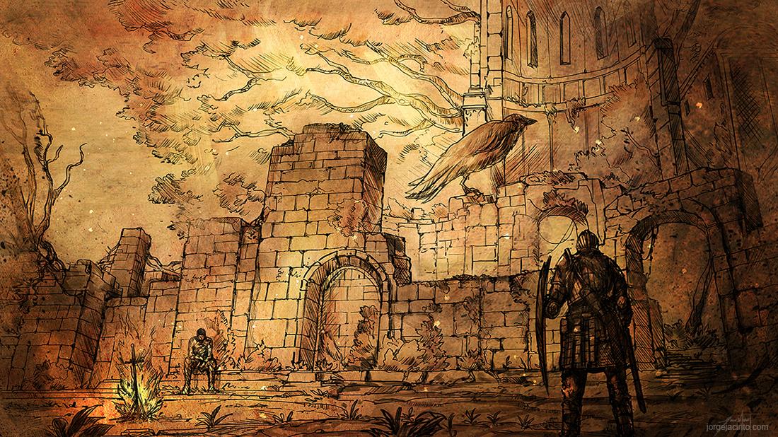 Undead Pilgrimige IV by JJcanvas