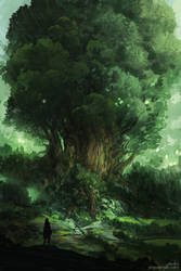 Sketch I - Leaves of the World Tree