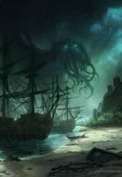 Hallucinated Island by JJcanvas