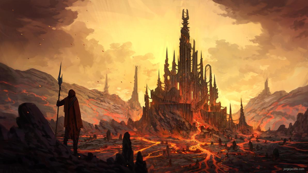 Dark Fortress by JJcanvas