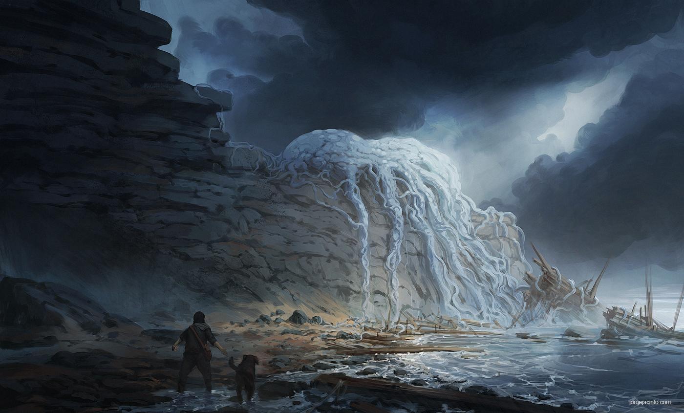 Drifted Ashore II by JJcanvas