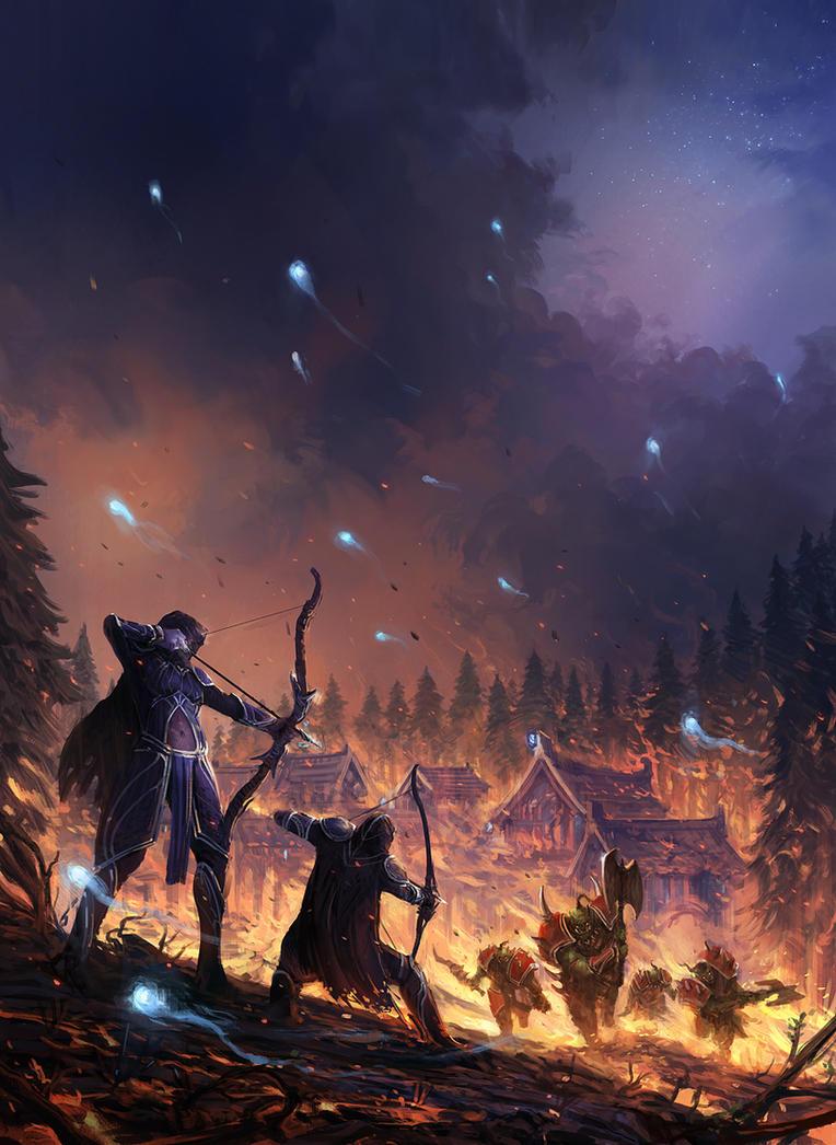 World of Warcraft - Battle for Azeroth I by JJcanvas