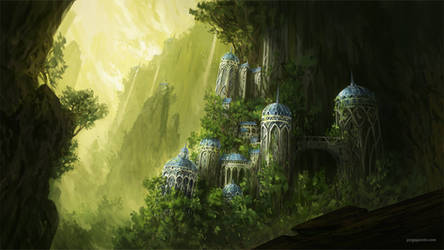Forgotten Kingdom II by JJcanvas