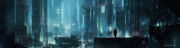 Future Noir by JJcanvas