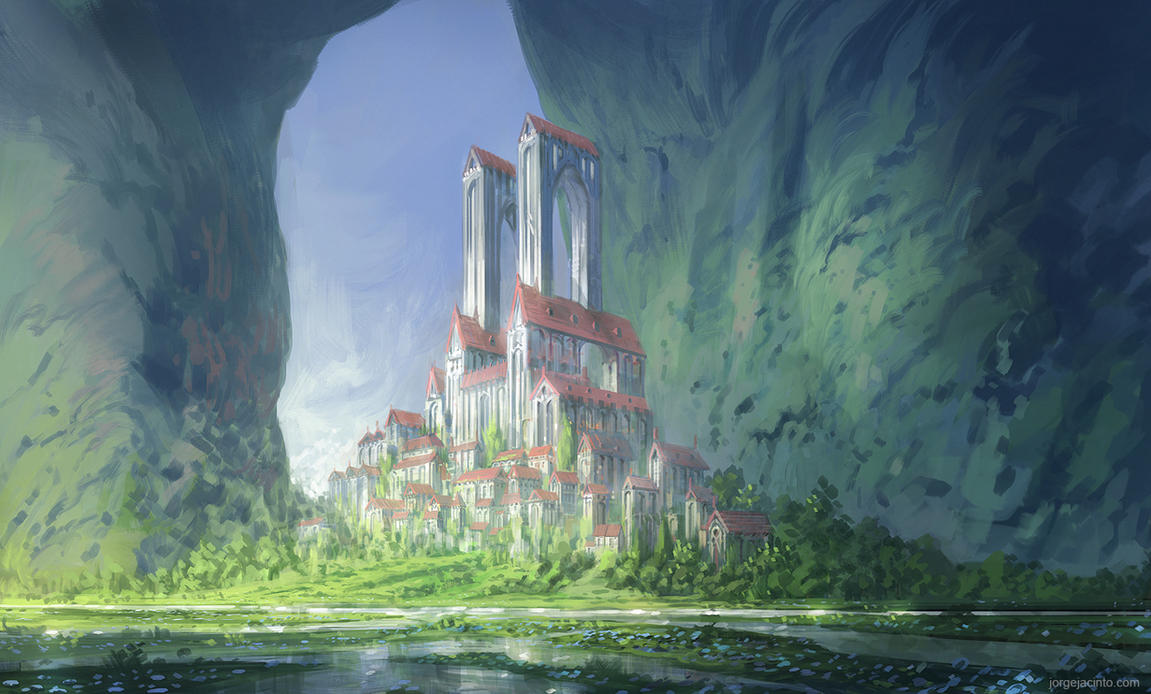 Forgotten Kingdoms V by JJcanvas