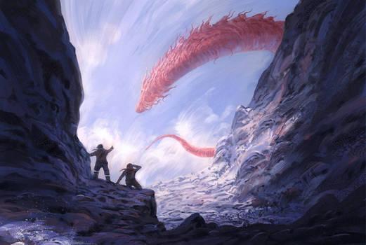 Dragon Sightings by JJcanvas