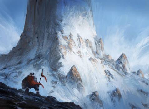 A Cold Journey by JJcanvas