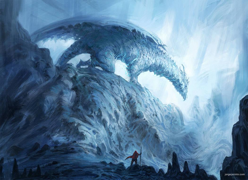 Frost Dragon: Frost Dragon By JJcanvas On DeviantArt