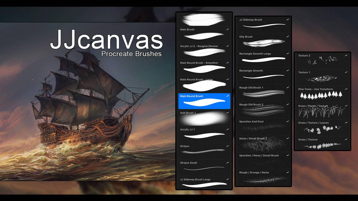 ProCreate Brushes by JJcanvas on DeviantArt