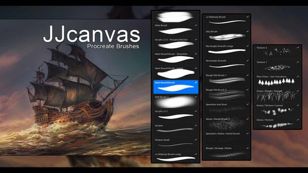 ProCreate Brushes by JJcanvas