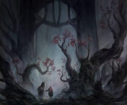 Sinister Path by JJcanvas