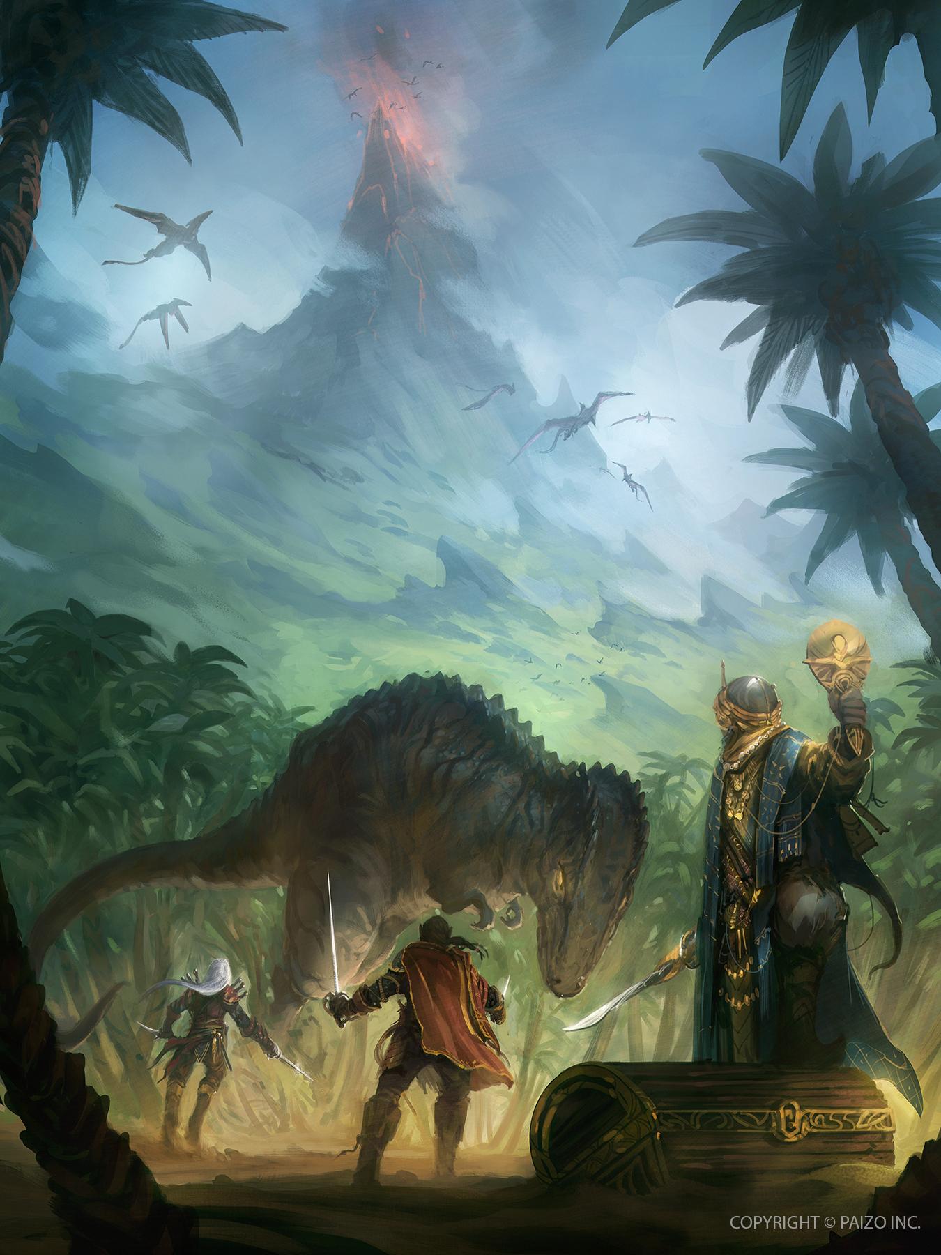 Pathfinder Kingmaker - Island