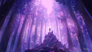 Synthwave Forest