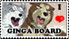 Ginga Board Stamp by SilverToraGe