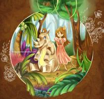 Rhino and The Lost Princess by krakuyaaa-kon