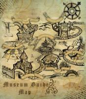 The Museum Guide Map by krakuyaaa-kon