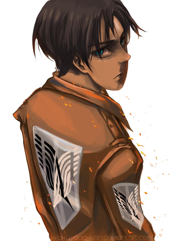 Shingeki No Kyojin - Eren's Wrath by krakuyaaa-kon