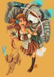 Late For School by krakuyaaa-kon