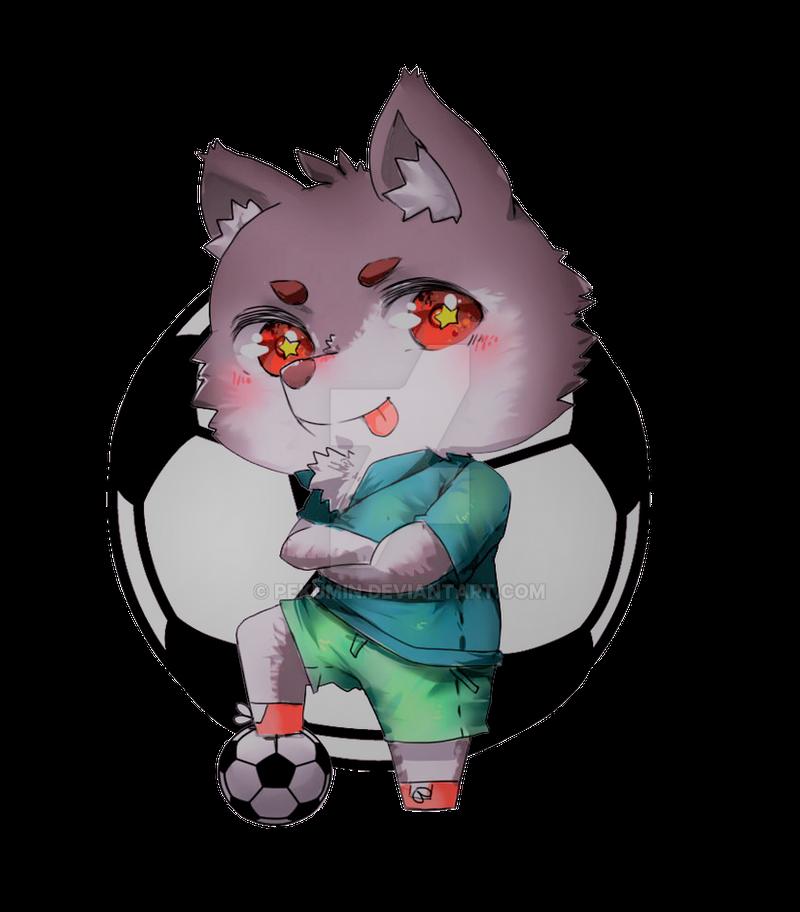 Soccer Doggy by Pekumin
