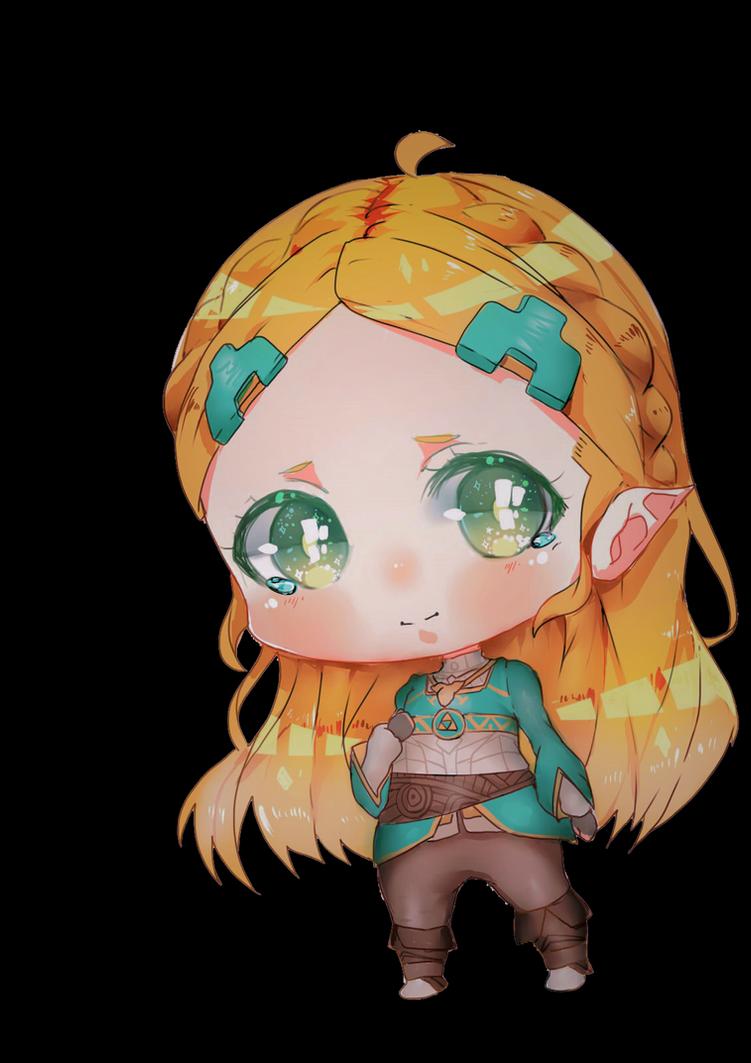Zelda (BOTW) by Pekumin