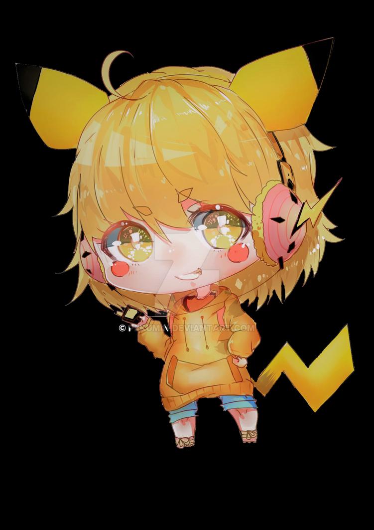 Pikachu by Pekumin