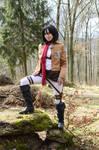 Mikasa Ackerman - Attack on Titan by Yuninka2