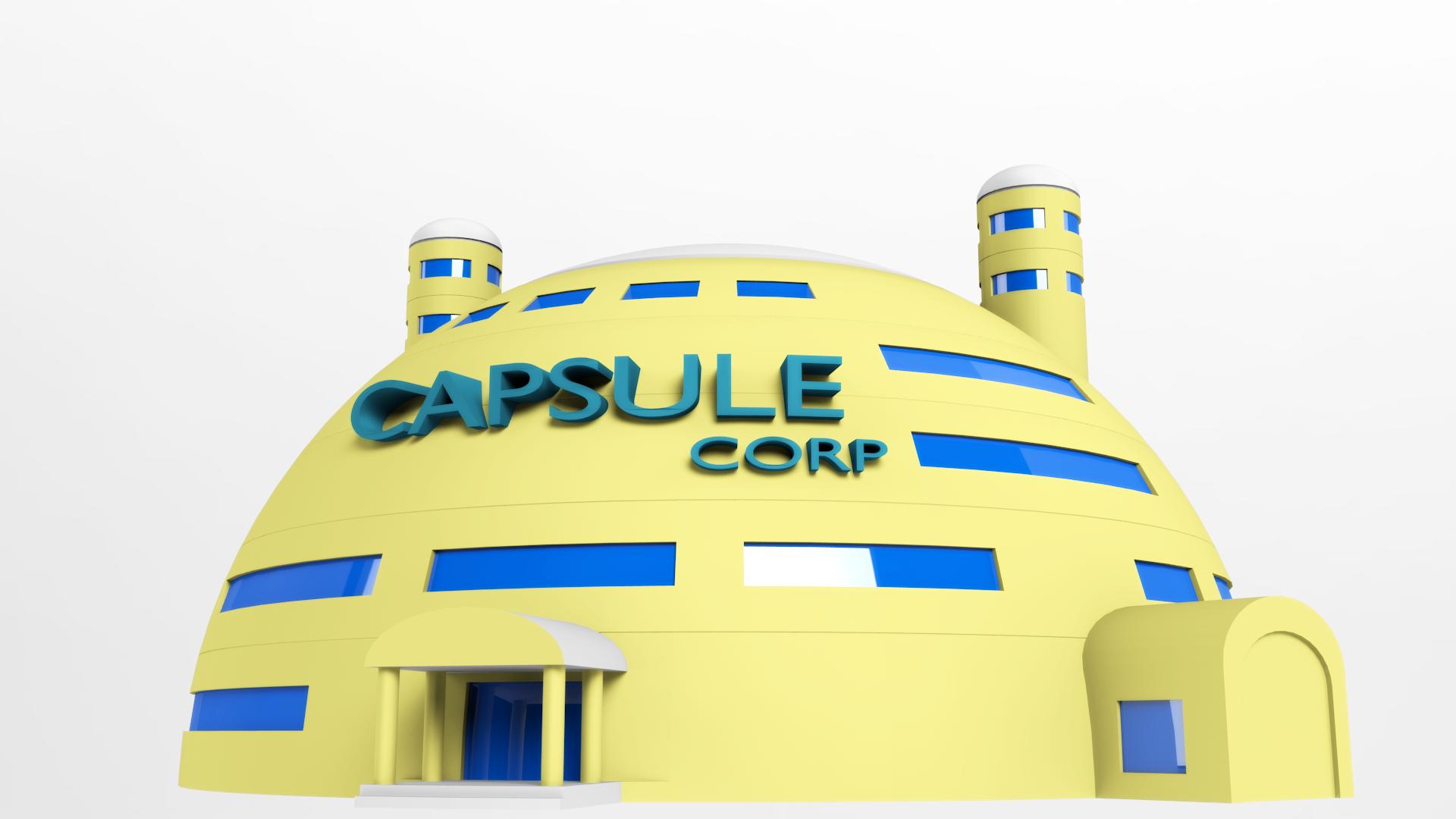 Capsule Corp. HQ (Bulma's House) by FluffyBlueCow