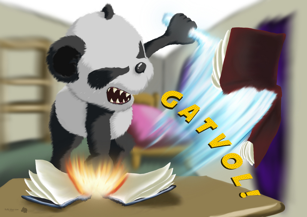 Gatvol! - Fed up with studying by FluffyBlueCow