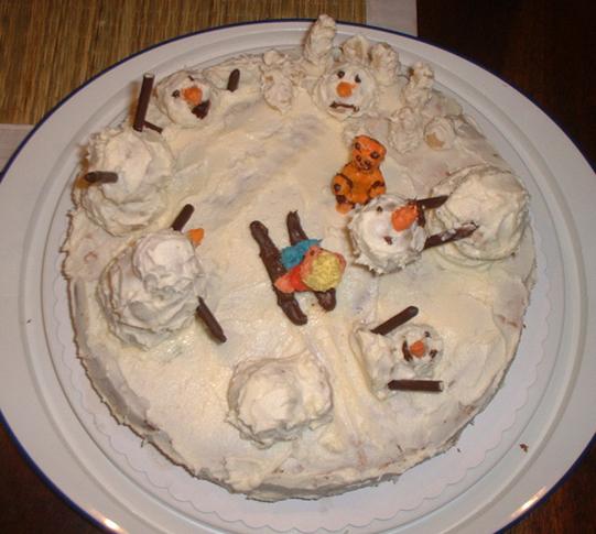 Calvin+Hobbes Birthday Cake