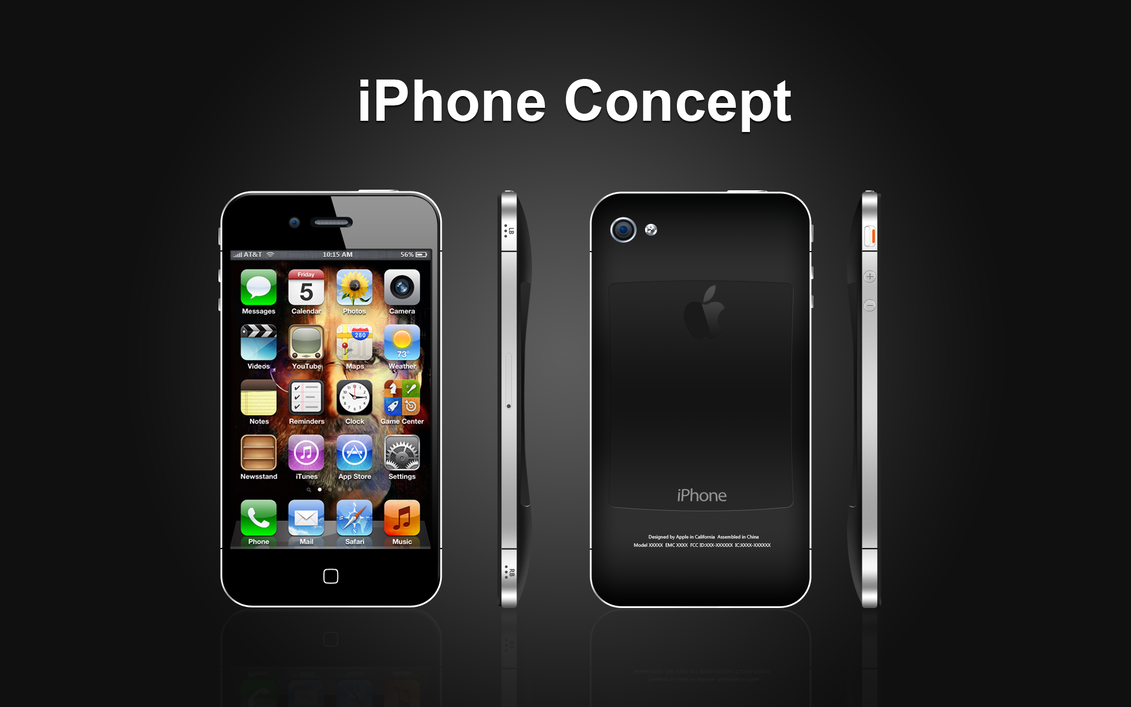 Apple iphone concept design by bobomc on deviantart for Designing an iphone app